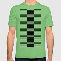 Zebras Play Piano Duet Mens Fitted Tee Grass SMALL