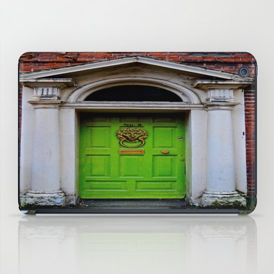 The Lion at No. 8 iPad Case
