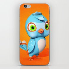 Toby Blue Bird iPhone & iPod Skin
