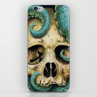 Tentacle Skull iPhone & iPod Skin
