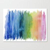Fade Into Rainbows Canvas Print