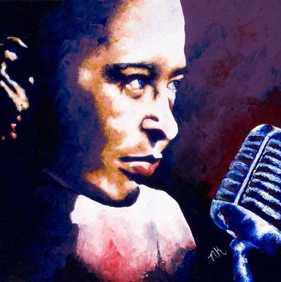 The Sad Song of Billie Holiday Art Print