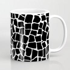 British Mosaic Black and White Mug