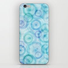 Spirograph pattern iPhone & iPod Skin