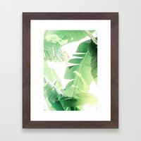 Jungle Abstract II Framed Art Print