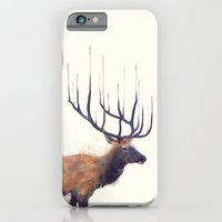 iPhone & iPod Case featuring Elk // Reflect (Right) by Amy Hamilton