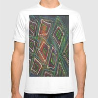 Kaleidescope Mens Fitted Tee White SMALL