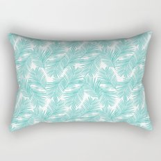 Palm tropical indoor house plants nature botanical vacation island summer surfing beach hipster Rectangular Pillow