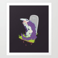 There's Still Bone Benea… Art Print