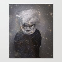 strange mask Canvas Print
