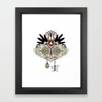 Death Mask 2 Framed Art Print