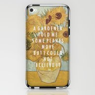 Hunting For Sunflowers iPhone & iPod Skin