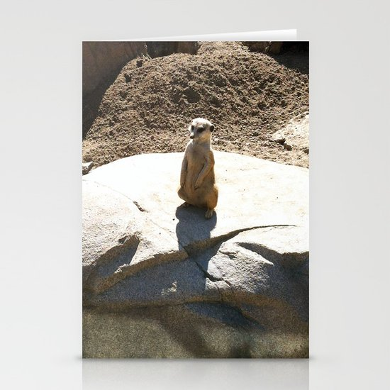 Just a meer kat... Stationery Card