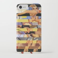 Glitch Pin-Up Redux: Courtney iPhone 7 Slim Case