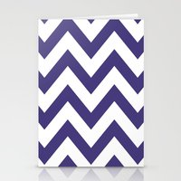 HORNED FROG CHEVRON Stationery Cards