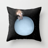 Lost In A Space / Uranus… Throw Pillow