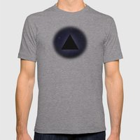 Wayfaring Triangle Mens Fitted Tee Athletic Grey SMALL