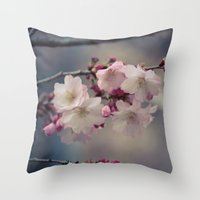 Blue Mondays Throw Pillow