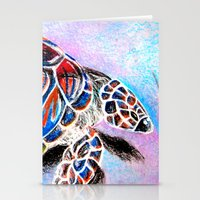 Fire Shell. Stationery Cards