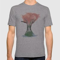 Tree of Autumn Mens Fitted Tee Athletic Grey SMALL