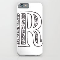 iPhone & iPod Case featuring R is for by Katie L Allen