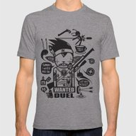 SORRY I MUST KILL YOU ! … Mens Fitted Tee Athletic Grey SMALL