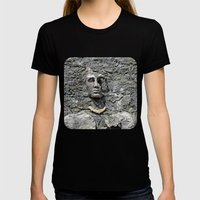 Stone Face Womens Fitted Tee Black SMALL