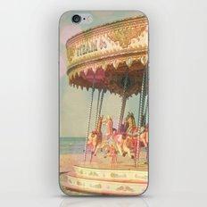 Circling Horses iPhone & iPod Skin