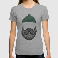 The Logger Womens Fitted Tee Athletic Grey SMALL