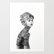 Rose #2 - Part 2 Art Print