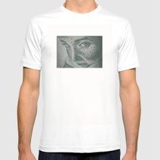 pecas! SMALL White Mens Fitted Tee