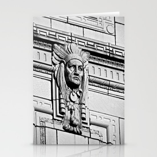 Building Chief Stationery Card