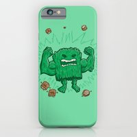 iPhone Cases featuring The Strongest Log of ALL by Nick Volkert