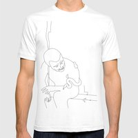 Past Mens Fitted Tee White SMALL