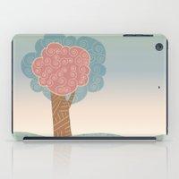 Tree Swirl iPad Case