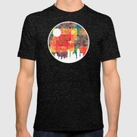 Goodbye Blue Sky Mens Fitted Tee Tri-Black SMALL