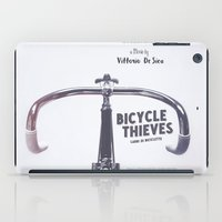 Bicycle Thieves - Movie Poster for De Sica's masterpiece. Neorealism film, fine art print. iPad Case