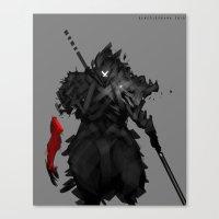 Assassin X Canvas Print