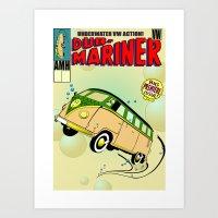 Dub-Mariner Art Print