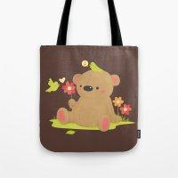 Hello Bear Tote Bag