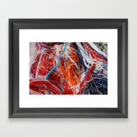 Linear1 Framed Art Print