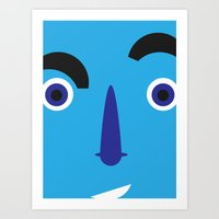 Disbelief Art Print
