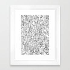 Isometric Urbanism pt.1 Framed Art Print