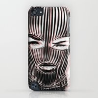 iPod Touch Cases featuring Badwood 3D Ski Mask by Badwood