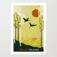 Finlandia - Sibelius Art Print