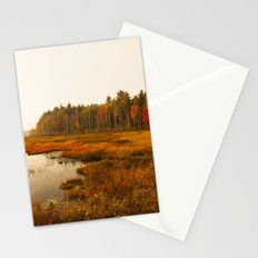 Autums Peaceful Tomorrow - New England Fall Landscape Stationery Cards