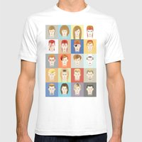 Golden Years Mens Fitted Tee White SMALL