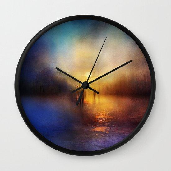 Light Echoes Wall Clock
