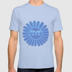 Happy Fish Mens Fitted Tee Athletic Blue SMALL