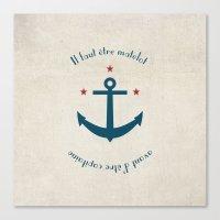 Sailor before Captain Canvas Print